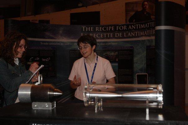 Suor Katarina scienziata Ginevra Cern 3