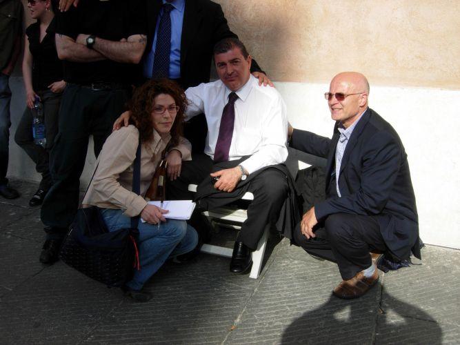 Pino Masciari 2009 sciopero fame Roma