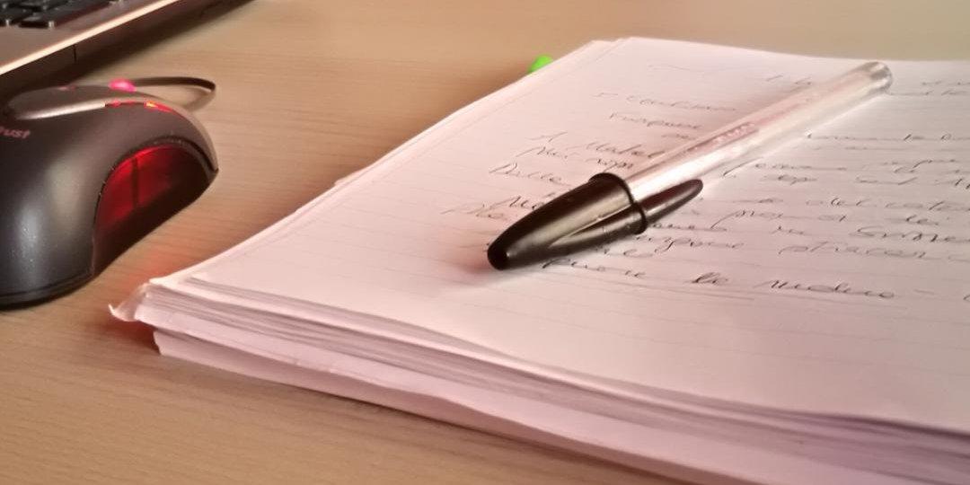 quaderno penna
