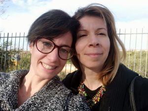 Le mamme imprenditrici Anna Bugliarello e Cristiana Papale, amiche e autrici di un libro su come smettere di allattare