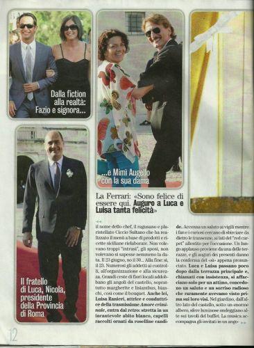 Matrimonio Zingaretti Ranieri Diva e Donna 3